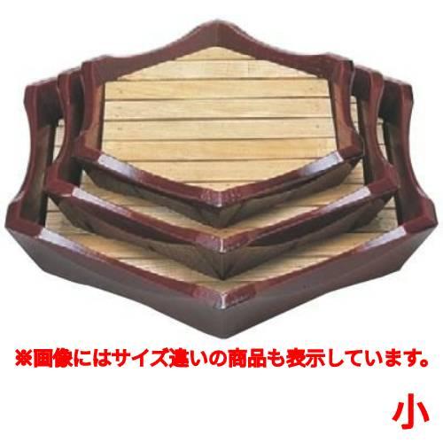 盛器 亀甲盛込器溜(小) 幅363 奥行318 高さ60/業務用/新品 /テンポス