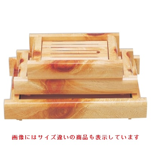 盛器 白山井桁盛込器(大) 幅440 奥行300 高さ75/業務用/新品 /テンポス