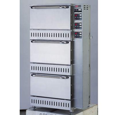 【業務用】ガス立体型炊飯器立体型・自動消火式 5升(9.0L)×3 【RAS-155】【リンナイ】幅700×奥行688×高さ1,348【送料無料】【プロ用】 /テンポス