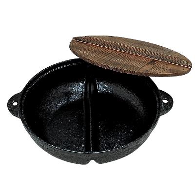 30cmホンコンしゃぶ鍋(木蓋付)/業務用/新品/小物送料対象商品