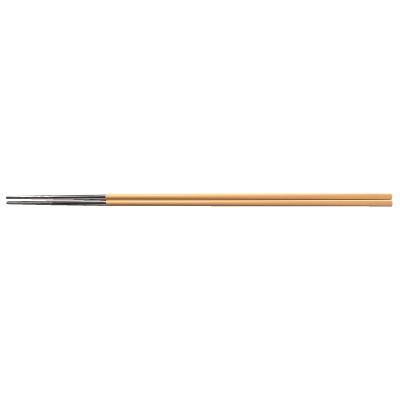 ベージュ箸先チタン焼肉箸/業務用/新品/小物送料対象商品