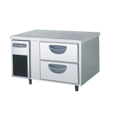 【冷蔵庫】【フクシマガリレイ】冷蔵コールドテーブル 2段ドロワータイプ 厚型【TBW-30RM2】幅900×奥行750×高さ550【送料無料】【業務用】【新品】【プロ用】 /テンポス