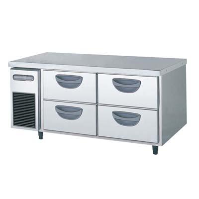 【冷蔵庫】【フクシマガリレイ】冷蔵コールドテーブル 2段ドロワータイプ 厚型【TBW-40RM3】幅1200×奥行750×高さ550【送料無料】【業務用】【新品】【プロ用】 /テンポス