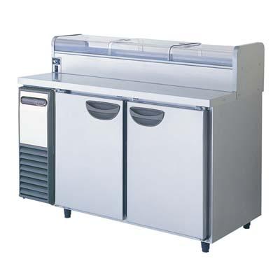 【冷蔵庫】【福島工業】ネタケース付 冷蔵コールドテーブル【TRW-40RM2-NC】幅1200×奥行750×高さ1020【送料無料】【業務用】【新品】