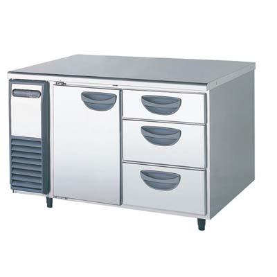 【冷蔵庫】【フクシマガリレイ】冷蔵コールドテーブル【YRC-120RM-D】幅1200×奥行600×高さ800【送料無料】【業務用】【新品】 /テンポス