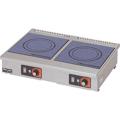 【電磁調理器】【マルゼン】IH調理器 卓上型 単機能2kW 【MIH-22C】【送料無料】【業務用】【新品】