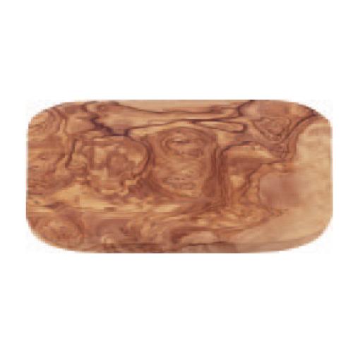 オリーブ カッティングボード レクタングル 200 木製まな板 幅190~200×奥行140~150×高さ15~20(mm) 12入/業務用/新品/小物送料対象商品