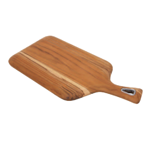 チークウッド カッティングボード 木製まな板 幅350×奥行175×高さ15(mm) 8入/業務用/新品/小物送料対象商品