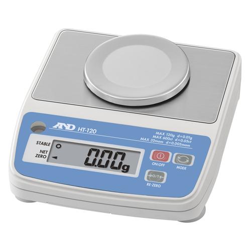A&D デジタルはかり A&D HT-120 コンパクトスケール 幅136mm×奥行150mm×高さ575mm ひょう量:120g/600ct/32mom/業務用/新品