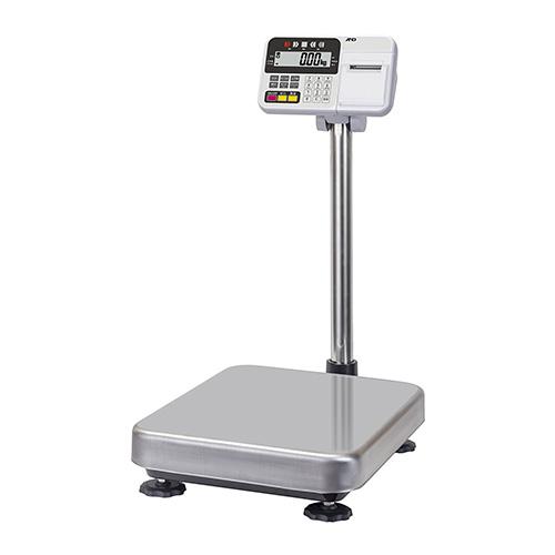 A&D 防塵・防水台はかり HW-100KCP(内蔵プリンター付き)/業務用/新品 /テンポス