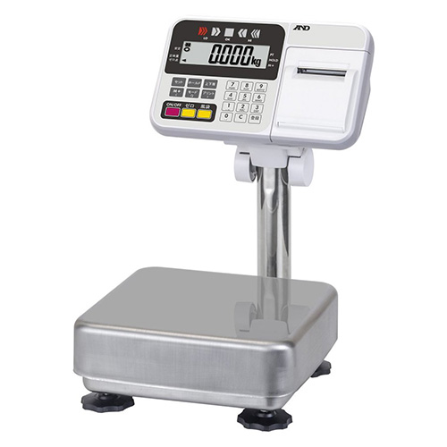 A&D 防塵・防水台はかり HW-10KCP(内蔵プリンター付き)/業務用/新品/小物送料対象商品