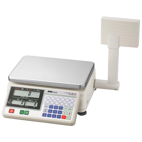 A&D 取引証明用 店舗用料金はかり A&D SR-6K (検定付) 幅275mm×奥行331mm×高さ335mm ひょう量:6000g/業務用/新品/小物送料対象商品