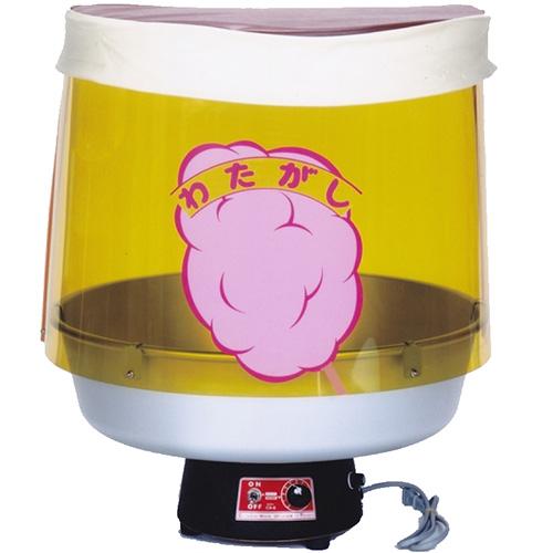 ニッセイ 綿菓子機TK-5型(1分毎に1~1.5本) 幅500×奥行500×高さ600(mm)/送料無料