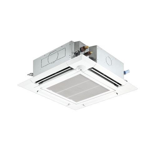 業務用エアコン 三菱電機 4方向天井カセット形 シングル スリムER PLZ-ERMP80SEEM 省エネ 【業務用】【新品】【送料無料】 /テンポス