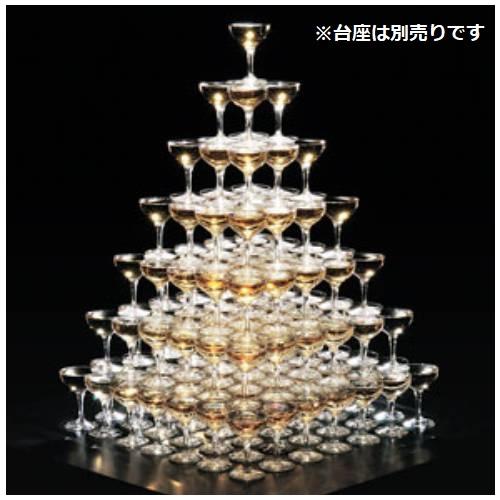 シャンパンタワー7段/1入/業務用/新品/テンポス