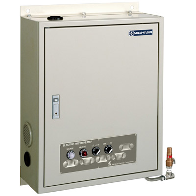 【業務用】壁掛式電気瞬間湯沸器 5.7号数 薄型・軽量タイプ【NEB-11】【ニチワ電気】 【送料無料】
