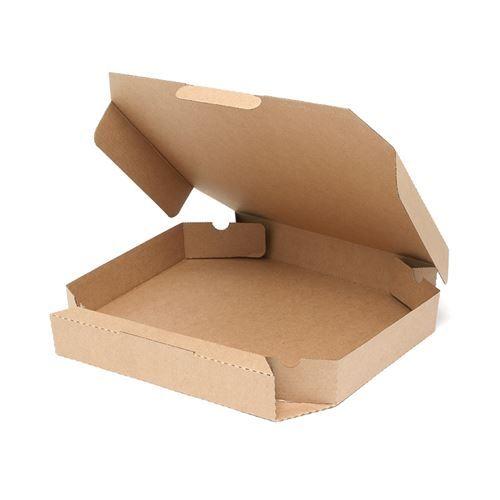 SWAN 食品容器 ピザ箱 12インチ 未晒無地 新品 小物送料対象商品 新発売 業務用 春の新作続々 100枚