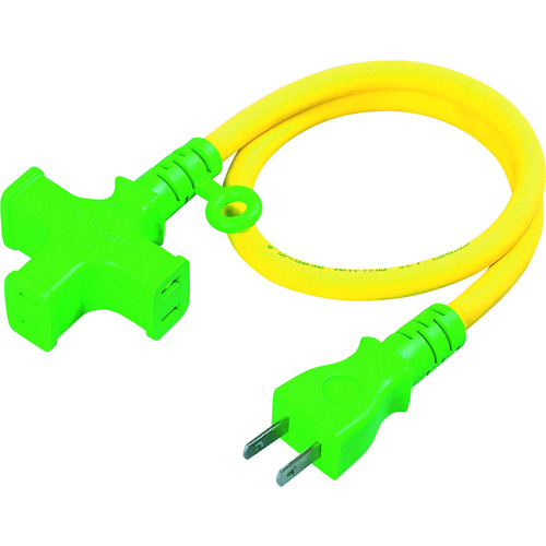 日動 ショートタップ クロスタップ ソフト電線0.5m/T205S/プロ用/新品/小物送料対象商品
