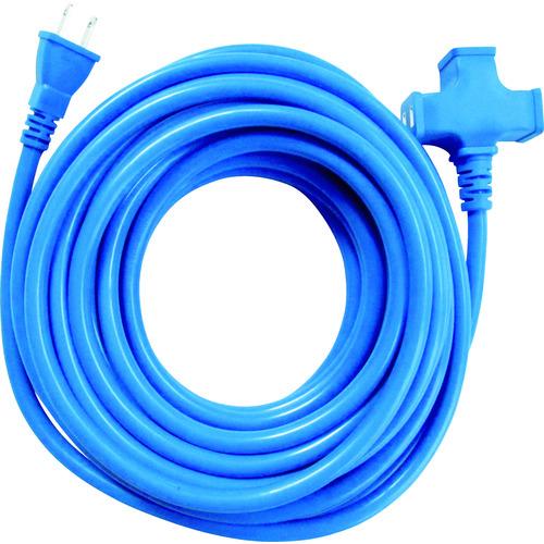 スターライト 3個口超ソフト延長コード ブルー/TR410B/プロ用/新品/小物送料対象商品