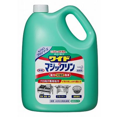 【業務用/新品】 花王 ワイドマジックリン / 3.5kg×4本【送料別】 /テンポス