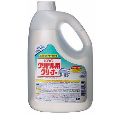 【業務用/新品】 花王 グリドルクリーナー / 2L×3本【送料別】 /テンポス