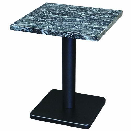 TB ブラックマーブルテーブル W500 幅500×奥行500 天板厚み30 テンポスオリジナル プロ用家具 送料無料 /テンポス