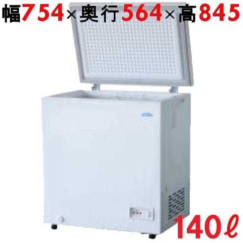 【業務用】冷凍ストッカー 140L 冷凍庫 チェストタイプ(上開きタイプ)TBCF-140-RH 幅754×奥行564×高さ845 キャスター付 【送料無料】 キャスター付 /テンポス