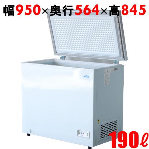 【業務用】冷凍ストッカー 190L 冷凍庫 チェストタイプ(上開きタイプ)TBCF-190-RH 幅950×奥行564×高さ845 キャスター付 【送料無料】 キャスター付 /テンポス