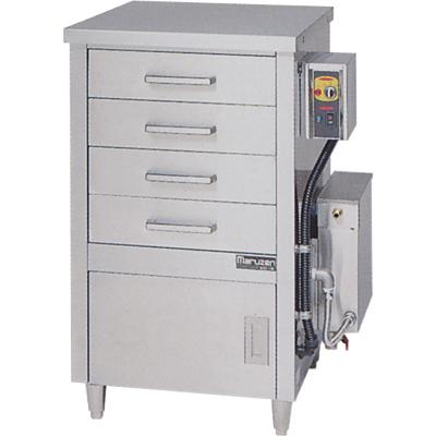 【蒸器】【マルゼン】電気式蒸器 ドロワータイプ 1槽式 引出し4個【MUDE-14】【送料無料】【業務用】【新品】 /テンポス