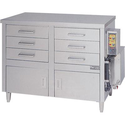 【蒸器】【マルゼン】電気式蒸器 ドロワータイプ 2槽式 引出し6個【MUDE-23】【送料無料】【業務用】【新品】 /テンポス
