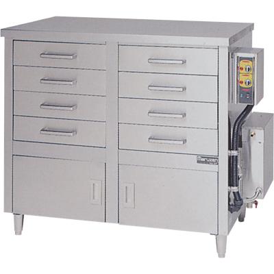 【蒸器】【マルゼン】電気式蒸器 ドロワータイプ 2槽式 引出し8個【MUDE-24】【送料無料】【業務用】【新品】 /テンポス