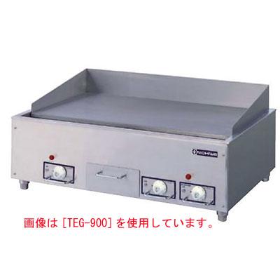 【業務用】電気グリドル アナログ式 【TEG-600B】【ニチワ電気】幅600×奥行600×高さ300【プロ用】 /テンポス
