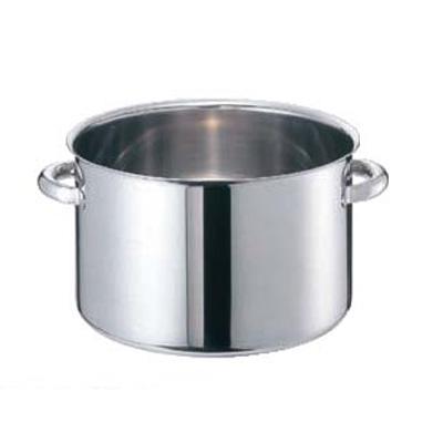 半寸銅鍋 モリブデンジII 蓋無 (目盛付) 33cm 【 業務用 】【送料無料】