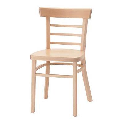 QUON(クオン オーツー) 木製イス パロス 板座(ウッドシート/張地無し) /(業務用椅子/新品)(送料無料)
