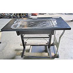 【中古】お好み焼きテーブル 幅1200×奥行600×高さ720 都市ガス【送料無料】【業務用】