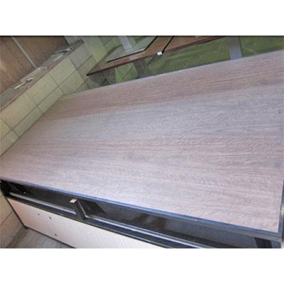 【中古】和風テーブル(仕切付) 幅2470×奥行1250×高さ700 【送料別途見積】【業務用】