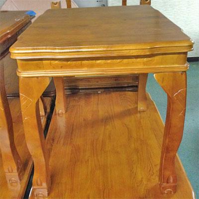 【中古】4本脚テーブル 幅700×奥行790×高さ750 【送料無料】【業務用】