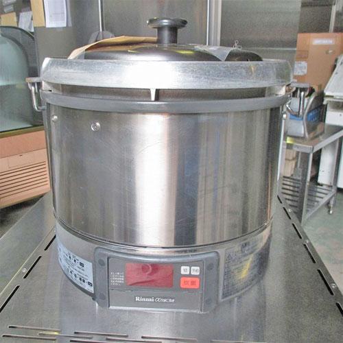 【中古】ガス炊飯器 リンナイ RR-30G1 幅460×奥行433×高さ460 LPG(プロパンガス)【送料無料】【業務用】【厨房機器】