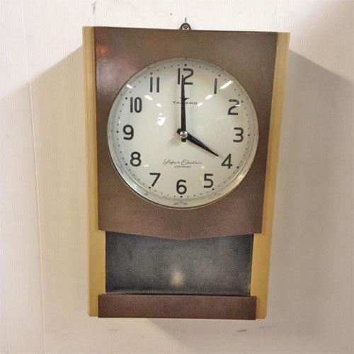 【中古】アンティーク古時計(振り子・壁掛) 幅110×奥行90×高さ400 【送料別途見積】【業務用】