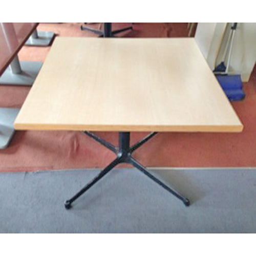 【中古】正方形テーブル 白 幅900×奥行900×高さ700 【送料無料】【業務用】