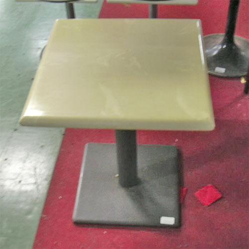 【中古】スナックテーブル 幅500×奥行500×高さ610 【送料無料】【業務用】