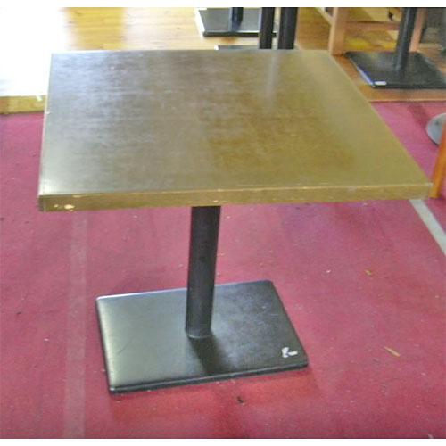 【中古】洋テーブル 幅750×奥行700×高さ720 【送料無料】【業務用】