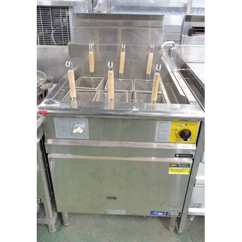 【中古】ガス式ゆで麺器 コメットカトウ CMR2-6 幅650×奥行600×高さ800 LPG(プロパンガス)【送料別途見積】【業務用】