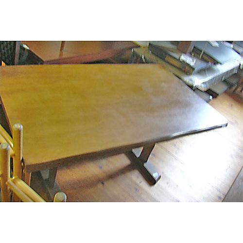 【中古】ダイニングテーブル 幅1500×奥行900×高さ700 【送料無料】【業務用】