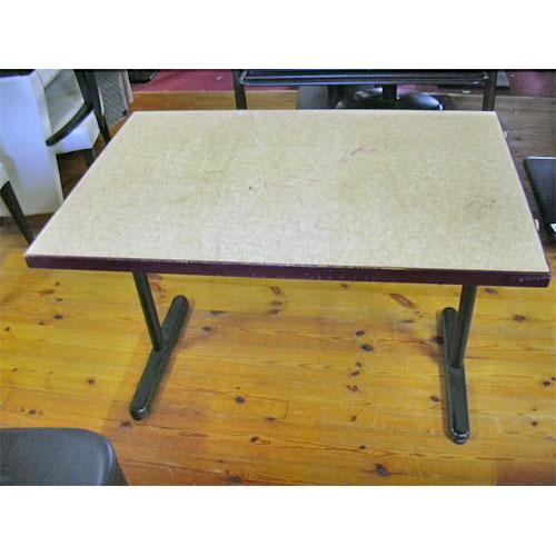 【中古】洋テーブル 幅1100×奥行750×高さ700 【送料無料】【業務用】