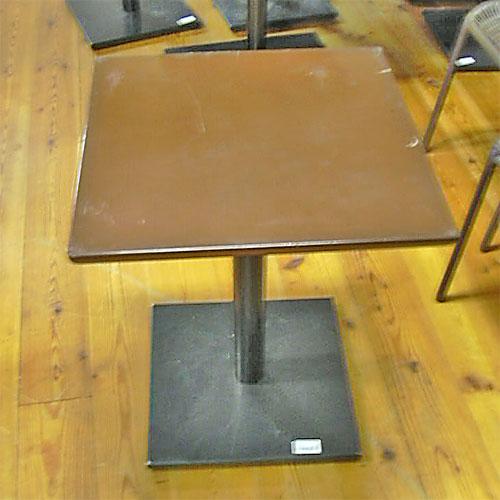 【中古】テーブル 幅500×奥行500×高さ600 【送料無料】【業務用】