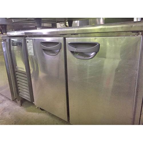 【中古】冷蔵コールドテーブル 福島工業(フクシマ) TRC-40RETA 幅1200×奥行600×高さ800 【送料別途見積】【業務用】