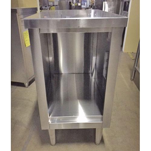 【中古】オーブンキャビネット 幅450×奥行750×高さ850 【送料別途見積】【業務用】【厨房機器】