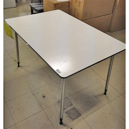 【中古】テーブル 白 幅1200×奥行800×高さ700 【送料別途見積】【業務用】