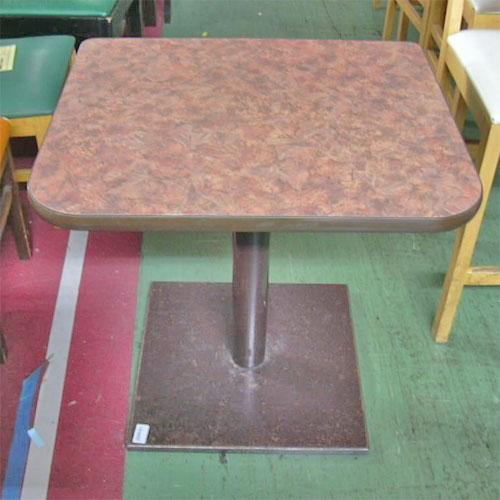 【中古】スナックテーブル 幅700×奥行550×高さ650 【送料無料】【業務用】